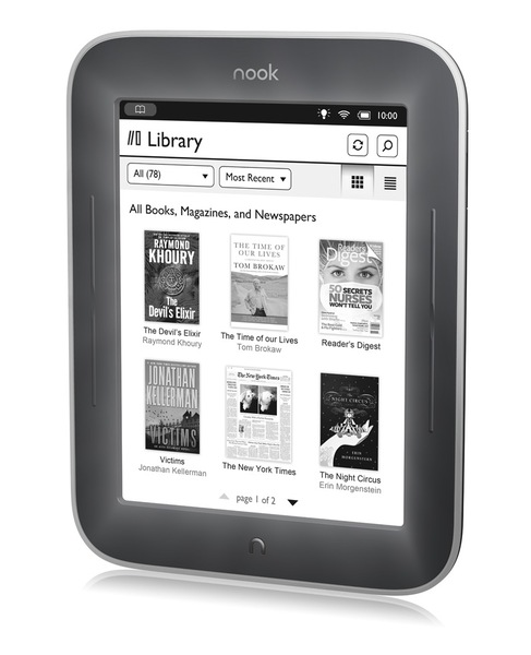 Nook simple touch 2