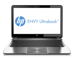 Hp envy ultrabook_frontopen_blacksilver