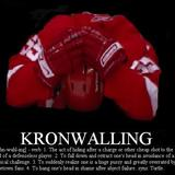 Kronwalling_definition