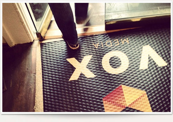 Vox Media DC entryway