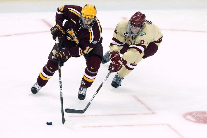 Minnesota Gophers Ranked #1 In USA Today/USA Hockey Magazine Poll