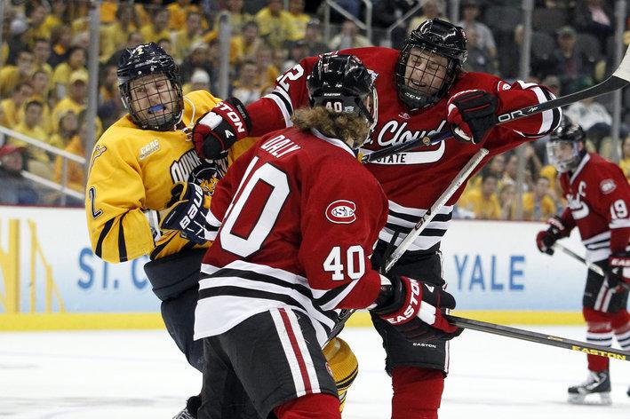 WCHA: 2013 NHL Draft Prospect Jonny Brodzinski