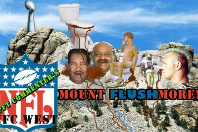 The worst of the St. Louis Rams: Mt. Flushmore