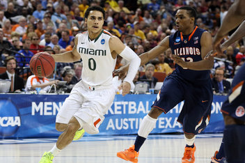 Mavericks select Shane Larkin at No . 18
