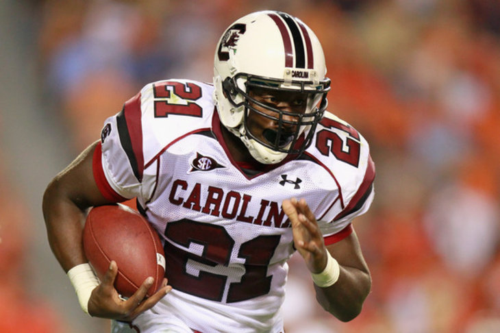 Marcus Lattimore enters 2013 NFL Draft.