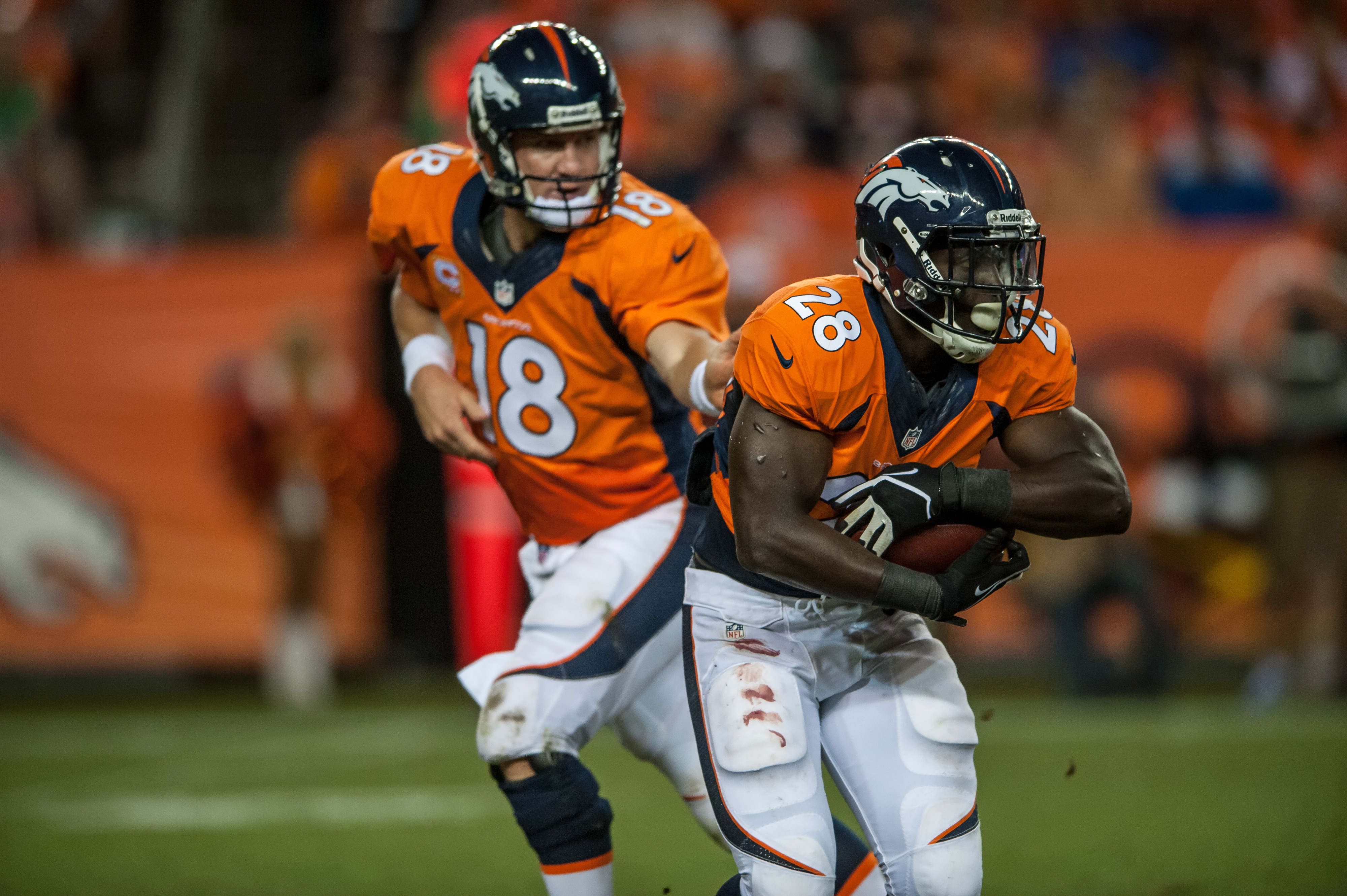 Meet julius thomas the first breakout nfl star of 2013 sbnation broncos game balls from thursdays win voltagebd Images
