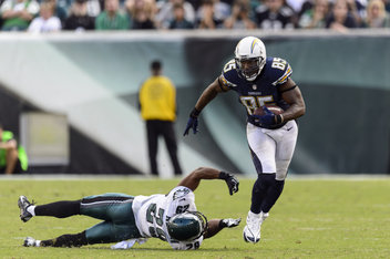 Antonio Gates vs. Eagles