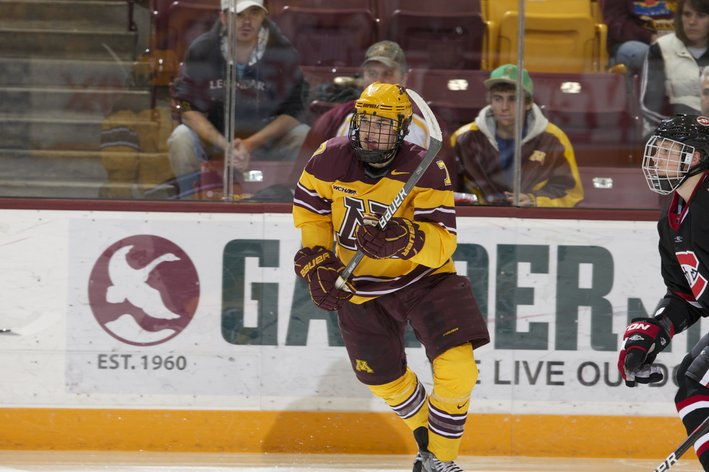 BIG10: Gophers Minnesota Defeats Lethbridge 5-1 In Physical Exhibition Opener
