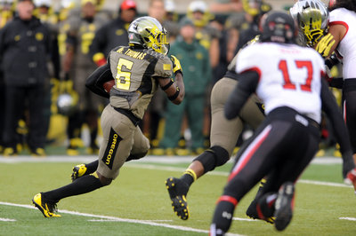 Oregon Ducks Football: Thomas' return sparks Oregon rout of Utah
