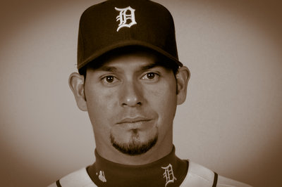 2013 Detroit Tigers Yearbook: Anibal Sanchez