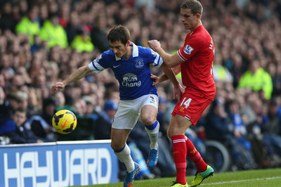 Everton deny Leighton Baines will join Manchester United in January