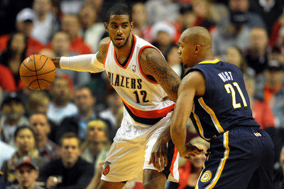 Playbook Breakdown: How Blazers F LaMarcus Aldridge Handles Extra Defensive Attention