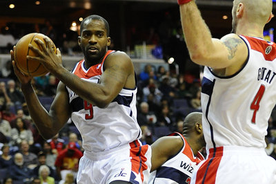 Martell Webster injures ankle against Milwaukee Bucks