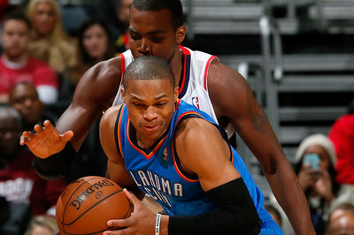 2013-2014 Game 20: Oklahoma City Thunder shut down Atlanta Hawks, 101-92