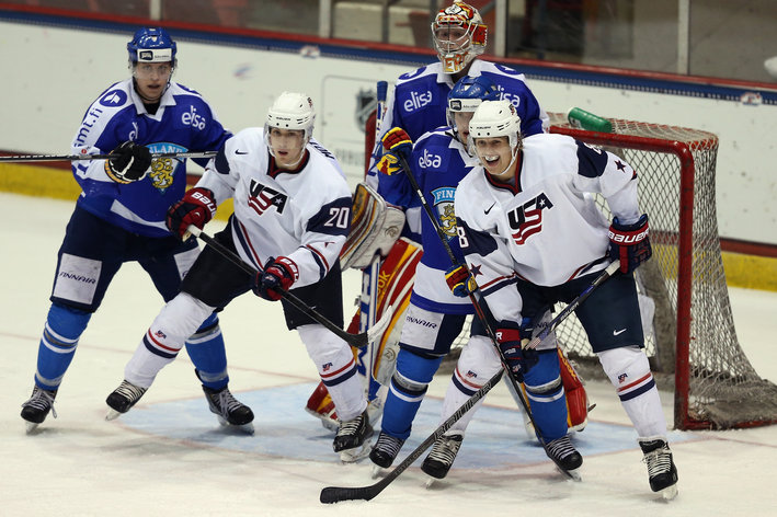 WJC: 2014 - Tyler Motte Not Taking Wearing USA Jersey For Granted