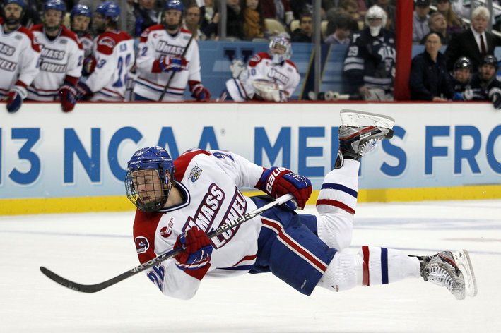 NCAA: Catamount Cup - Christian Folin Sparks UMass-Lowell To Victory