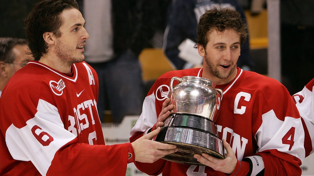 NCAA: Beanpot Preview - Players Turned Coaches Provide A Look Into Tournaments Past