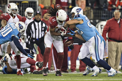Arizona Cardinals 2013 film review: Rookie's mistake leads to Larry Fitzgerald concussion