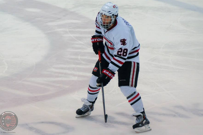 NCHC: St. Cloud's Andrew Prochno Out With Lower Body Injury