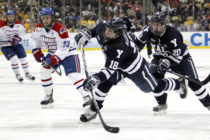 ECAC: 2014 Tournament Schedule - Harvard-Yale Highlight First Round Matchups