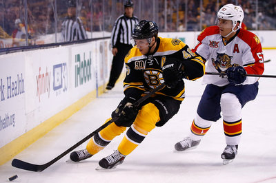 Recap: Krejci hat trick powers Bruins past lackluster Panthers