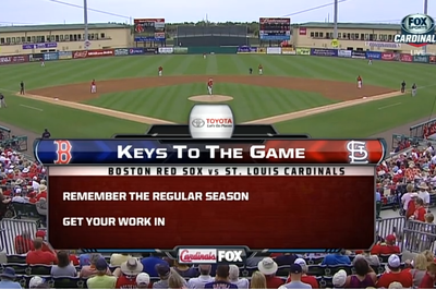 FOX's Keys to the Game are garbage, with bonus Daniel Nava GIF