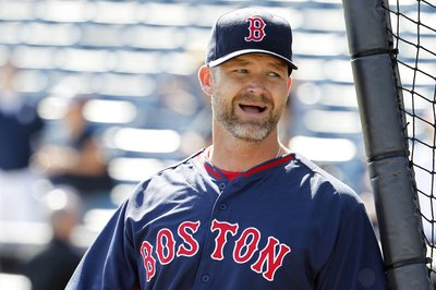 Look it's David Ross riding a camel for some reason
