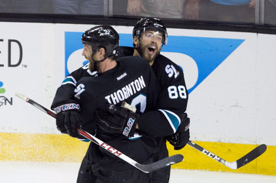 Brent Burns leads Sharks over Ducks in game, division race