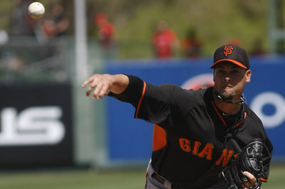Vogelsong hit hard, bullpen awful