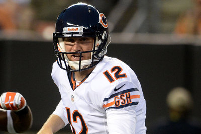 The Chicago Bears signed free agent quarterback Josh McCown o…