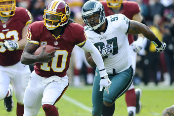 Redskins QB Robert Griffin III vs. Eagles