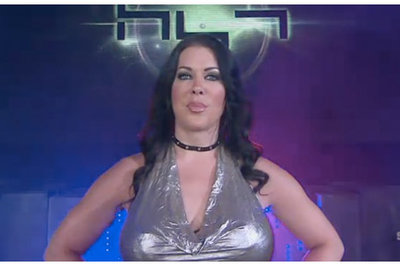 Chyna's 'Queen of the Ring' wrestling porn parody exposes AJ Lee