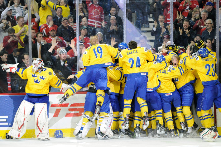 WJC: Sweden Tops World Ranking Entering Tournament