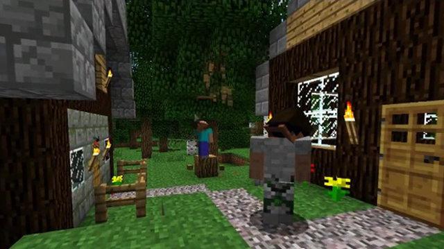 LEGO.com Minecraft Startseite - Produkte - Steve's Haus