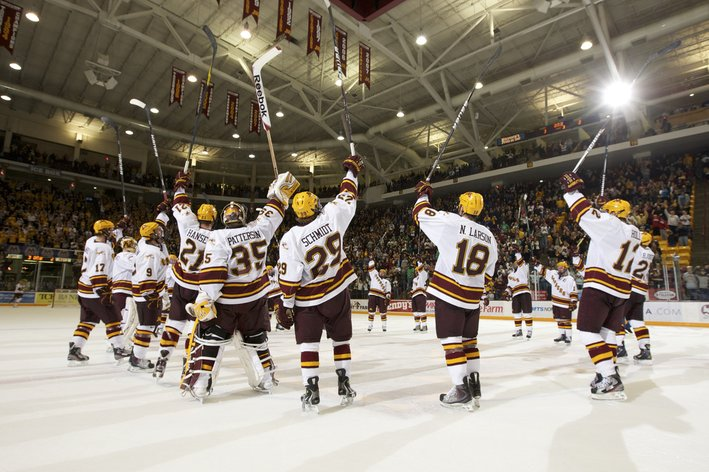 NCAA: Mariucci Classic - News & Notes From Minnesota's 8-1 Blow Out Over Boston College