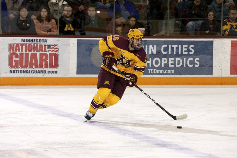 NCAA: Despite Being Without Leading Scorer Erik Haula, Gophers Minnesota Defeats Notre Dame 4-1 Tuesday