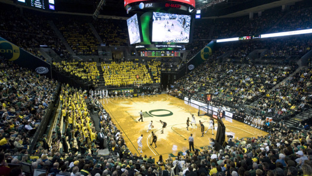 Have you seen Oregon's basketball court? - SBNation.com