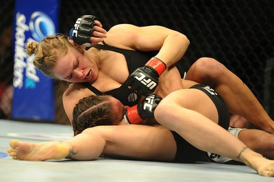 UFC 157 results recap: Ronda Rousey vs. Liz Carmouche fight photos gallery from Anaheim