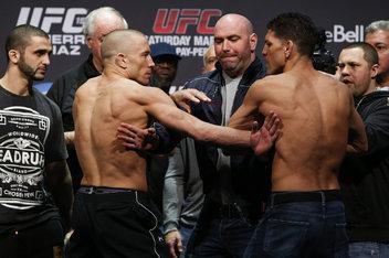 Georges St-Pierre vs Nick Diaz - UFC 158 Pelea completa