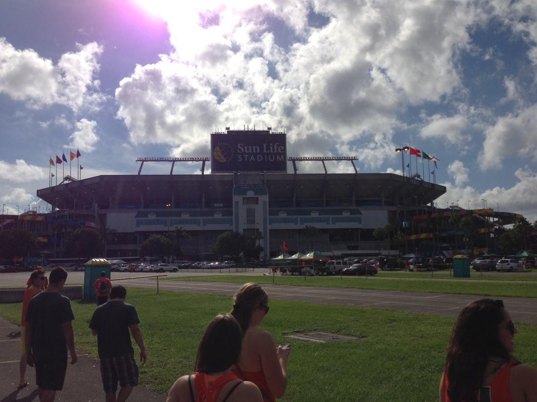 Miami Hurricanes Stadium Bring The Miami Hurricanes