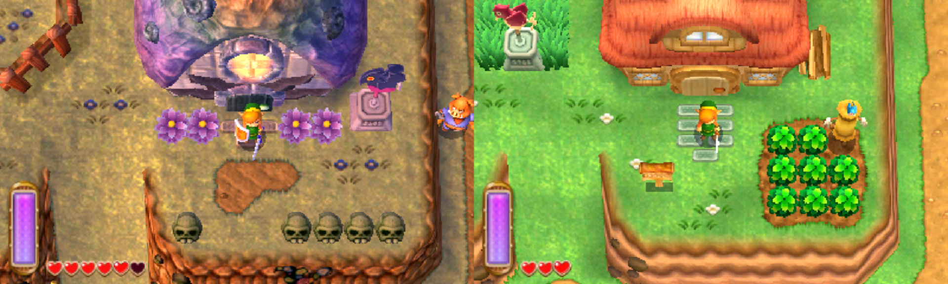 A Link Between Worlds also adds a new emphasis on multi-level dungeons that  require constant back and forth from one floor to the other via pits and  other ...