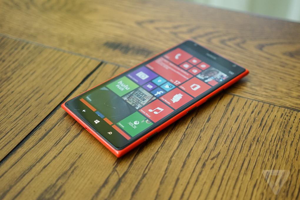 Nokia Lumia 1520 Review The Verge
