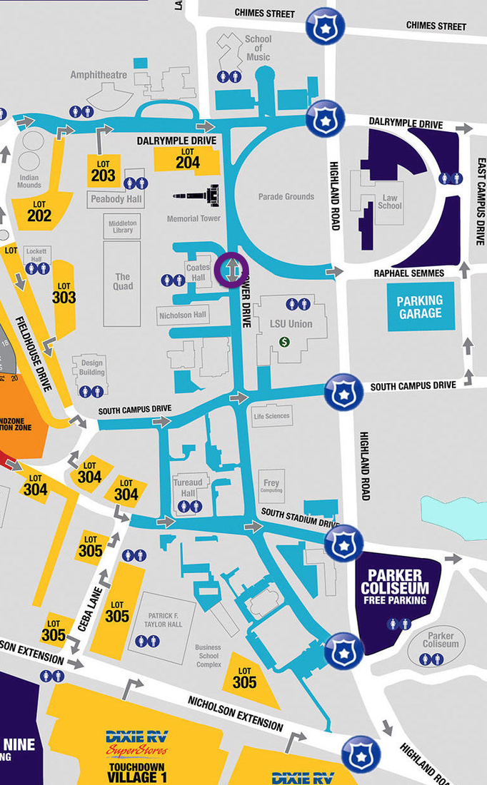 Lsu Campus Map 2016.Lsu Tailgater S Guide Good Bull Hunting