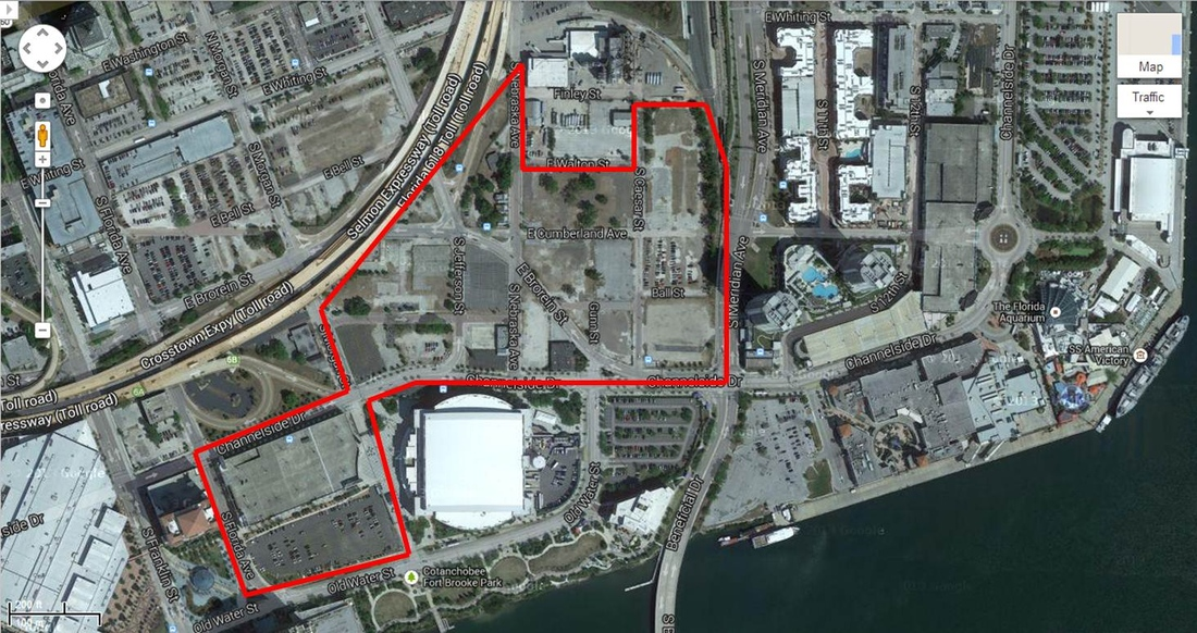 Possible Rays Stadium Location Developing Channelside