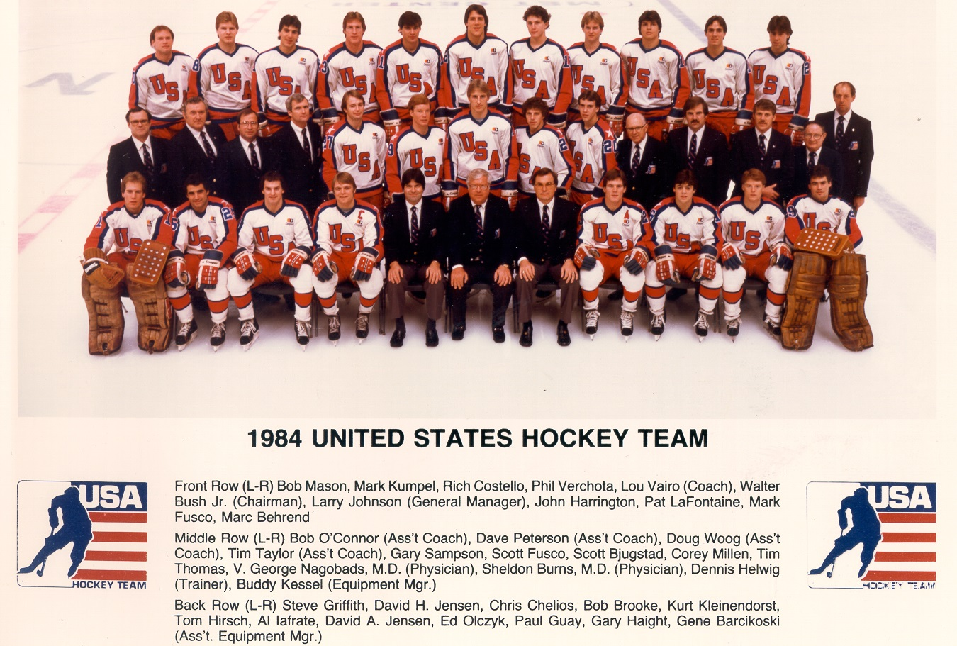 The Anti-Climax  The 1984 USA Men s Olympic Hockey Squad – The ... 0e9e64651