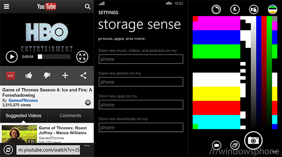 new windows phone 8.1 interface