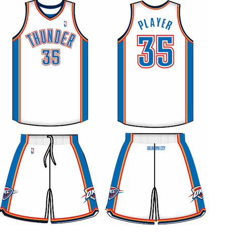 ebc62734d24b Oklahoma City Thunder jerseys  is it time for a new look  - Welcome ...