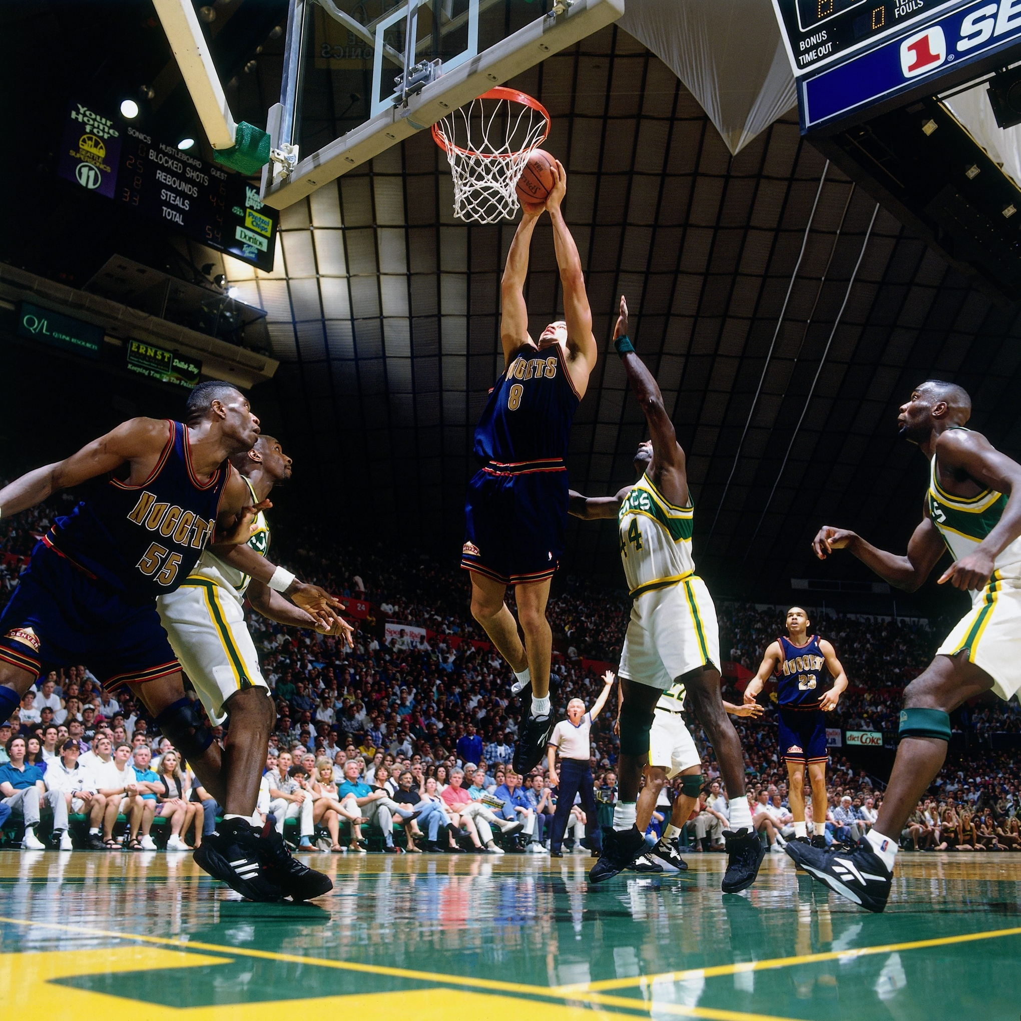 Denver Nuggets Sb Nation: Reign Of Terror: Shawn Kemp, Gary Payton And The Rise Of