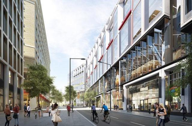 Появились первые рендеры лондонской штаб-квартиры Google