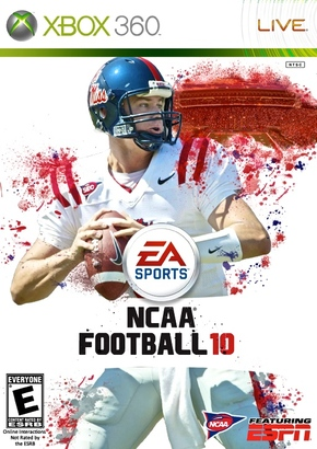 Jevan Snead NCAA Football 10 cover - Red Cup Rebellion